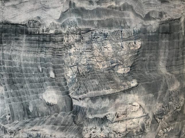 10_Trace, 2020, gouache et encre de Chine sur papier, 57 x 75,5 cm-2