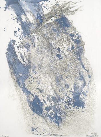 11_Fred Deux, « Dessin parlant », 2011, mine de plomb et encre sur papier, 65 x 50 cm
