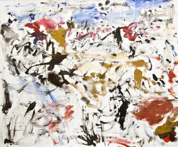 1_Aurel Cojan, Paysage, 1997, huile sur toile, 55 x 65 cm