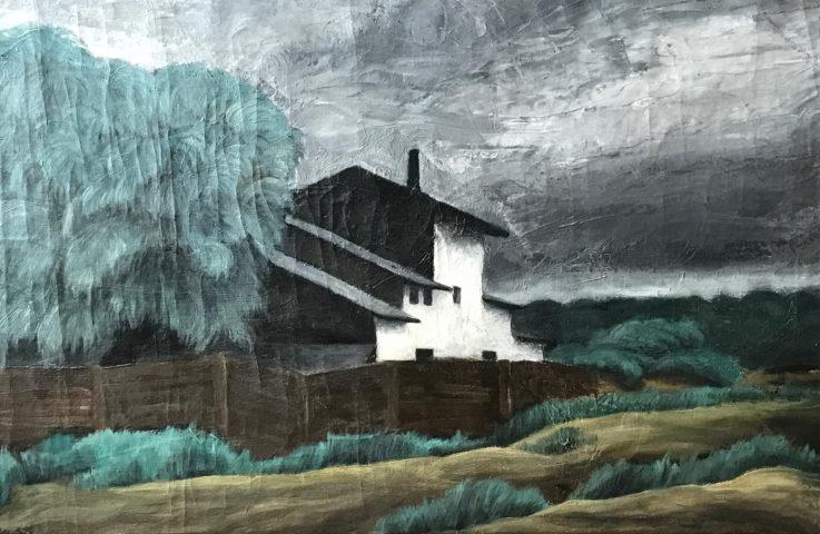 1_Karl Godeg, Sans titre, 1935, huile sur toile, 40,5 x 61 cm