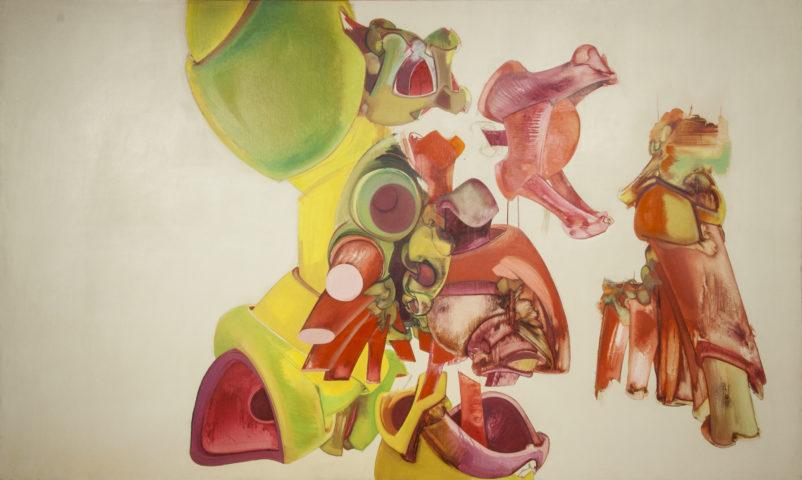 2_François Lunven, Sans titre, 1969, huile sur toile, 114 x 195 cm