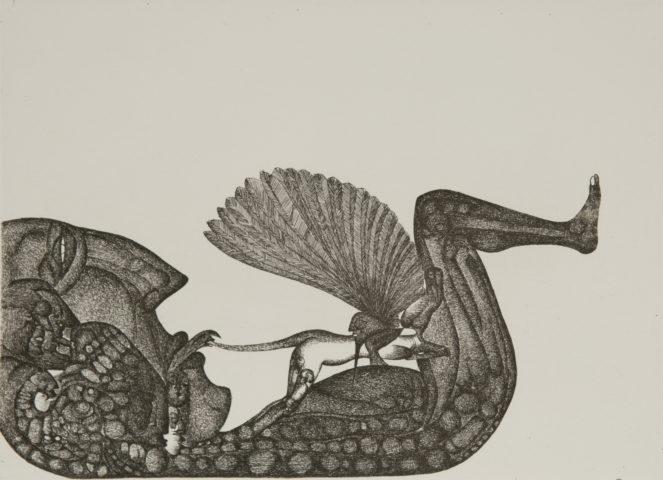 2_Sans titre, d'après Fred Deux, 1959, eau-forte, 16,5 x 22,5 cm