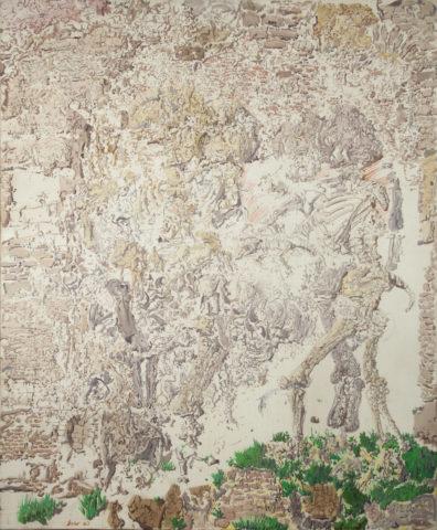 3_Sans titre, 1960, huile sur toile, 103 x 80 cm