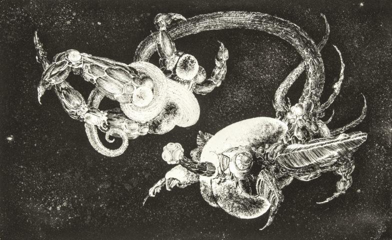 5_François Lunven, Rapt, 1964, gravure, 24,5 x 39,2 cm