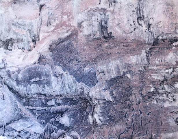 5_Hong Insook, Trace, 2020, gouache et encre de Chine sur papier, 50 x 64,5 cm 7