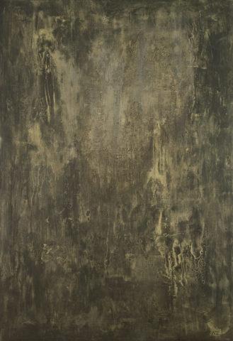5_Karl Godeg, Sans titre, 1962, huile sur toile, 129 x 88 cm