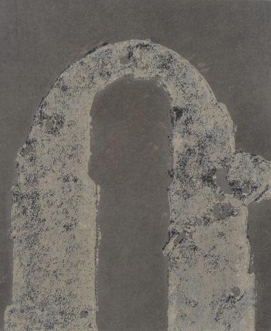 5_N°09910C, Huile sur papier, 2010, 46 x 38 cm