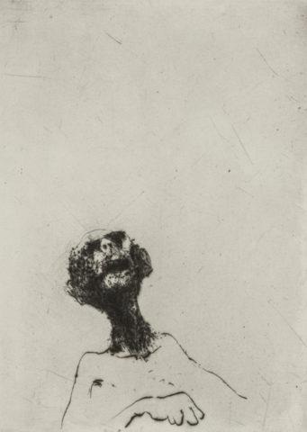 5_Nous ne serons pas les derniers, 1975, gravure, 12 x 8,6 cm