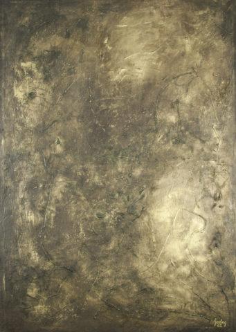 6_Karl Godeg, Sans titre, 1962, huile sur toile, 130 x 88 cm