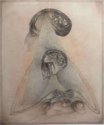 7_« Dicté par la Nature, Devant l'incertain », 1993-1995, 76 x 56,5 cm